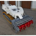 Vehicle for mechanical mine clearance Digger D-250