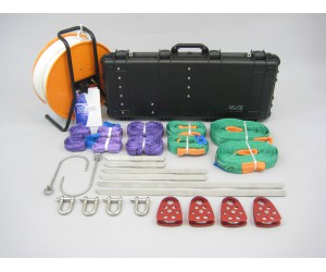Heavy duty hook and line kit