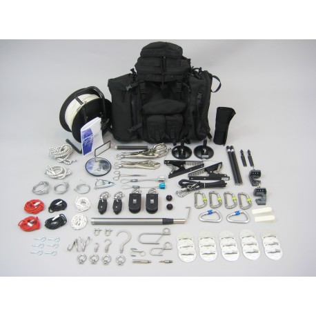 Kit hook and line Gamma-B backpack