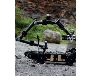 Remote operated robot First Responder