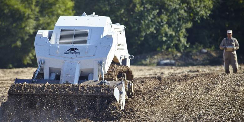 Robot de déminage