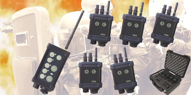 Exploseurs Radio-commandés