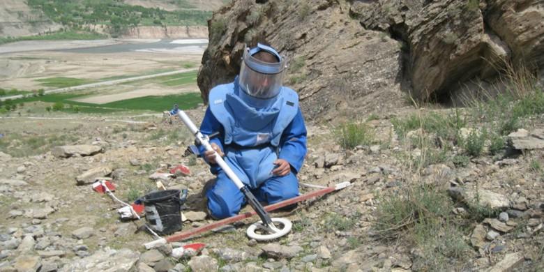 Détecteur de mine EBEX 422 GC
