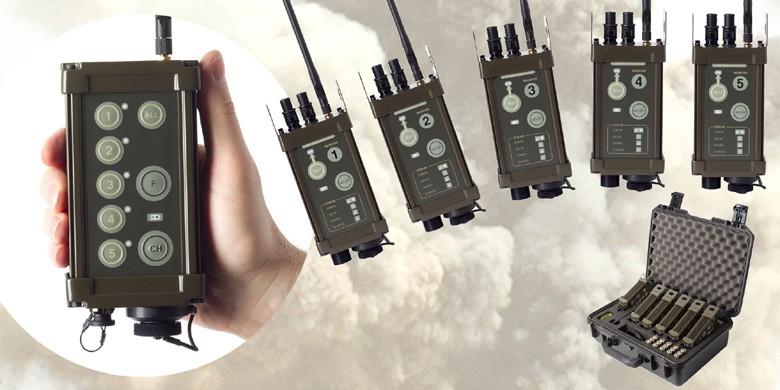 Exploseur radio-commandé